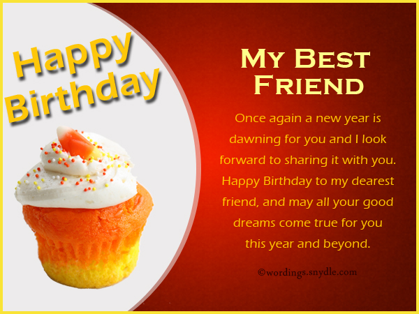 cute birthday message for best friend tagalog ; best-friend-birthday-messages-1