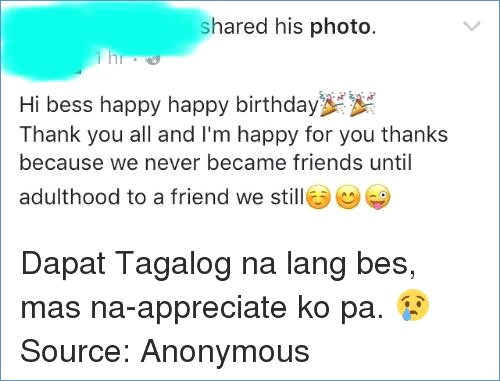 cute birthday message for best friend tagalog ; message-for-my-best-friend-her-birthday-tagalog-best-happy-of-what-to-write-in-best-friends-birthday-card