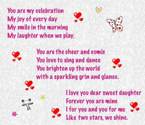 cute birthday rhymes ; happy-birthday-poems