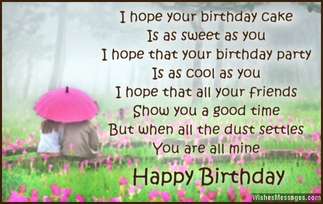 cute birthday rhymes ; poems-for-a-birthday-card-birthday-poems-for-boyfriend-wishesmessages-download