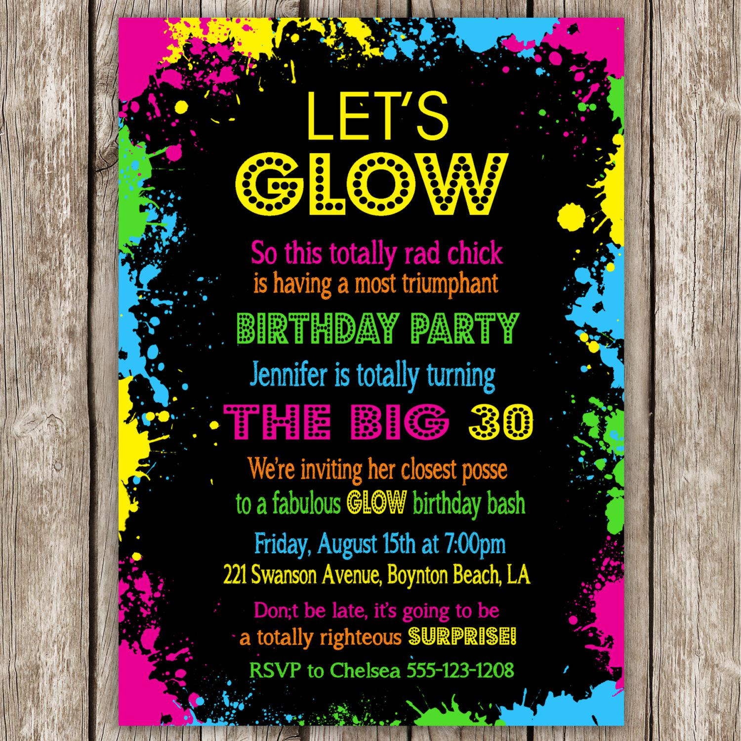 dance birthday party invitation templates ; dance-party-invitations-with-chic-Party-Invitation-Templates-as-a-result-of-an-application-using-a-felicitous-concept-5