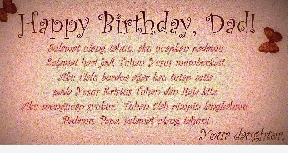 daughter birthday message to her father ; Happy-Birthday-Dad-6