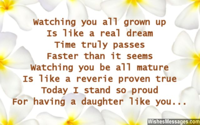 daughter birthday message to her father ; Heart-melting-birthday-wishes-for-daughter-from-her-mother-and-father
