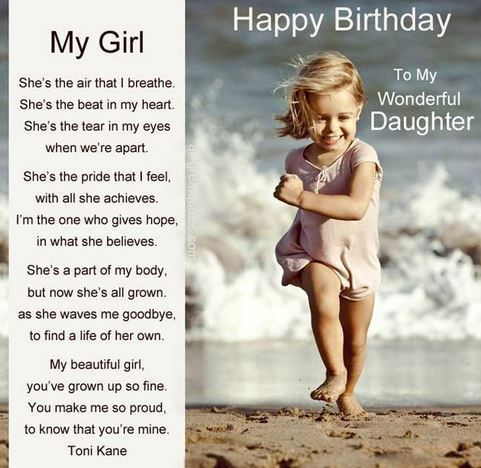 daughter birthday message to her father ; a88719a6dd8d82d3b19acbce22d6f99a