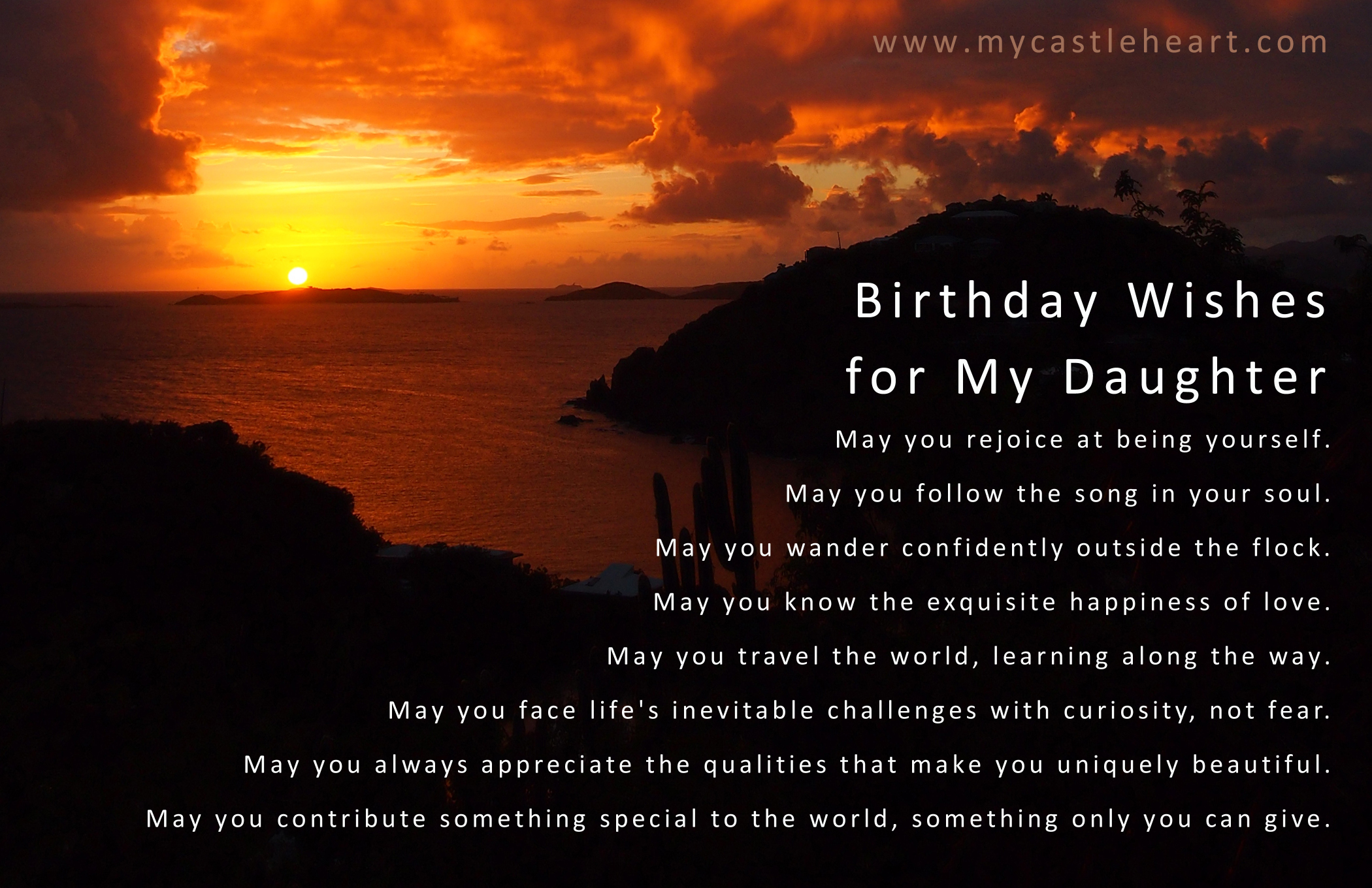 daughter birthday message to her father ; birthday-wishes-for-my-daughter
