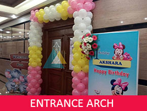 decoration themes for birthday parties ; birthday-entrance-arch-decoration
