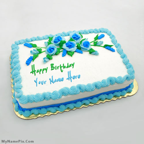 design your birthday cake online ; birthday-flowers-cake_name_pictures_2acfc618