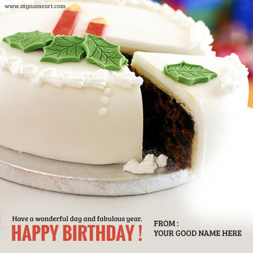 design your birthday cake online ; fabulous-birthday-cakes-name-picture