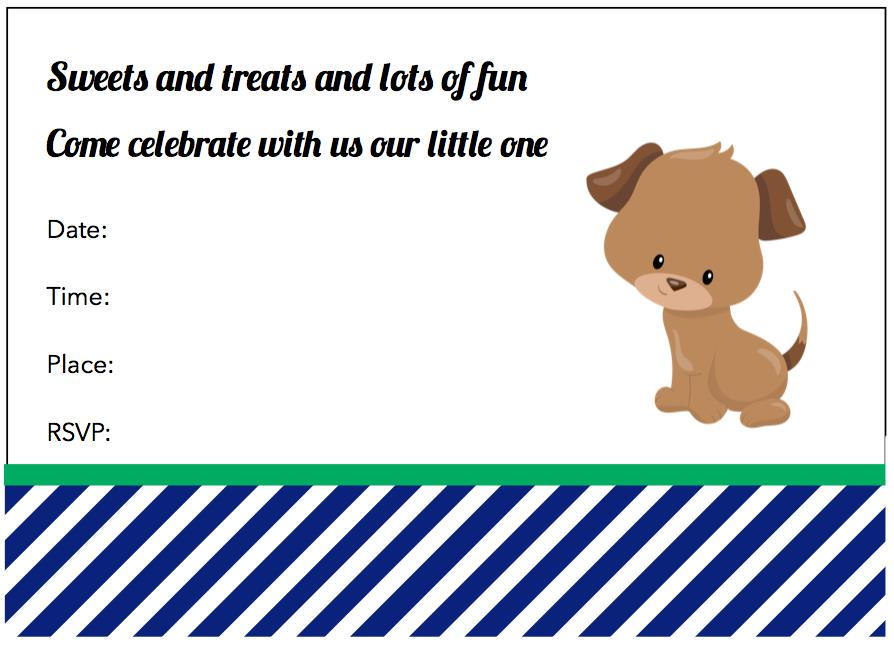 dog birthday invitations free printable ; 3bab576fd7af4339042cea8b0fc5c693