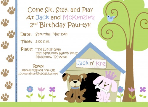 dog birthday invitations free printable ; Dog-Party-Invitations-P-Fabulous-Dog-Birthday-Invitations-Free-Printable