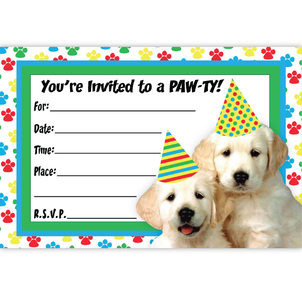 dog birthday invitations free printable ; Dog-party-invitations-and-get-inspired-to-create-your-own-party-invitation-design-with-this-ideas-1