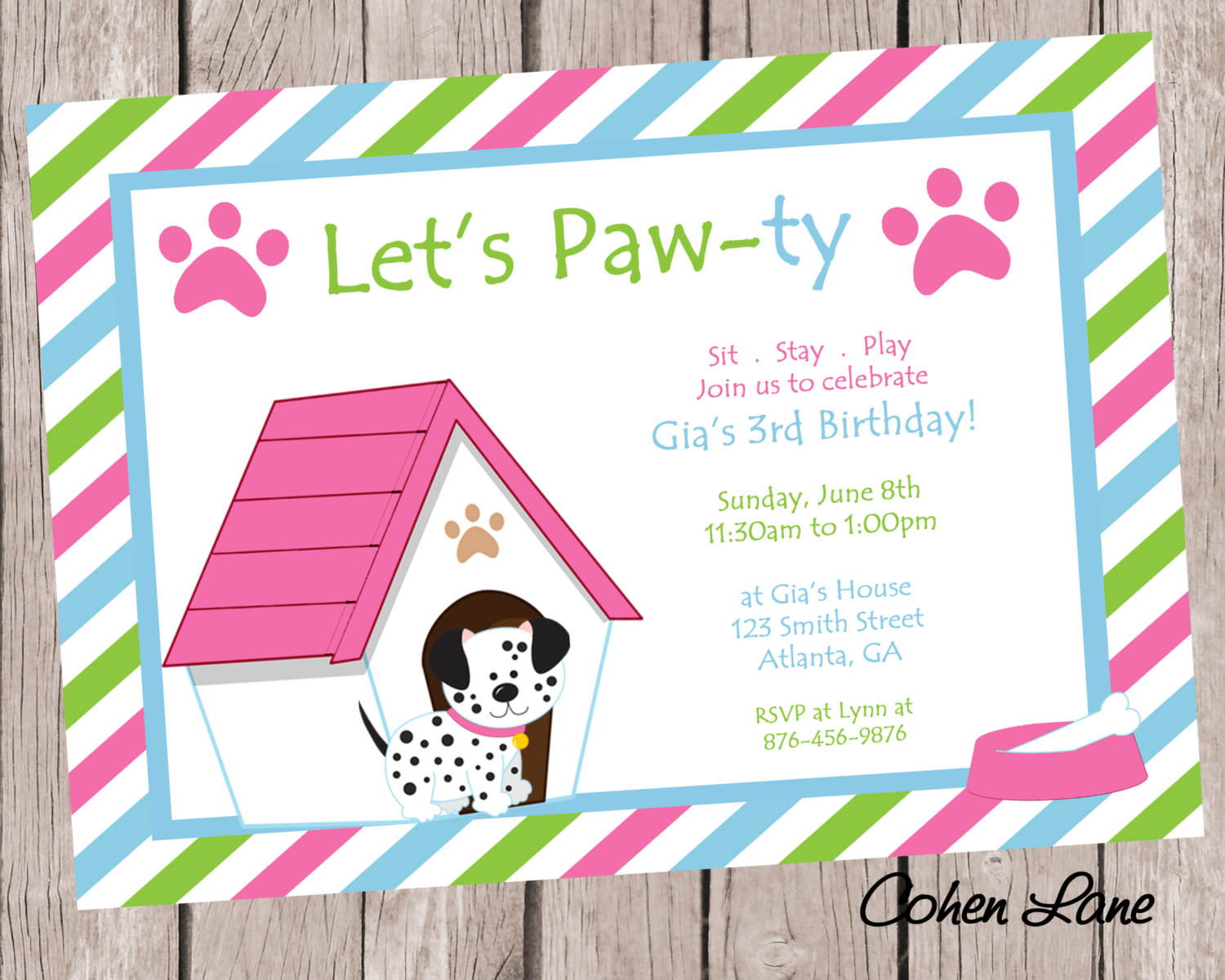 dog birthday invitations free printable ; dog-birthday-party-invitations-for-well-solutions-in-of-drop-dead-Party-Invitation-Template-10