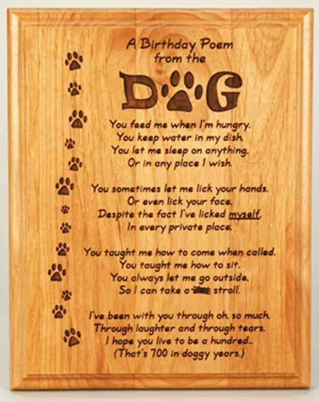 dog birthday poem ; 709c8dc80cd052eb0c701bbdbf4aef28