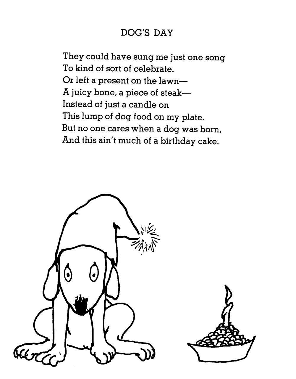 dog birthday poem ; a8da4ed9930359f4e15a60141f1c6564