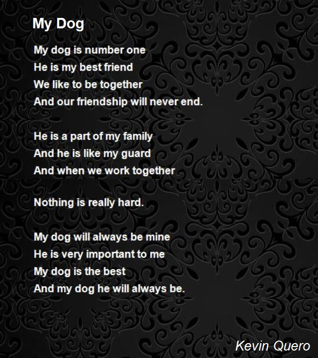dog birthday poem ; my-dog-31