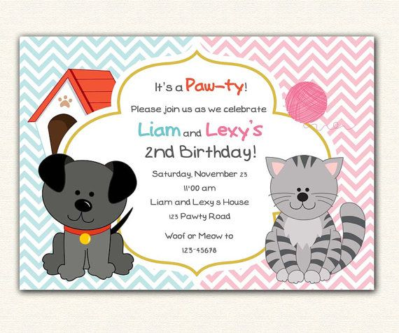 dogs first birthday card ; dog-birthday-party-invitations-with-easy-on-the-eye-invitation-for-beauty-your-Party-Invitation-Template-35