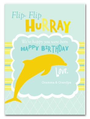 dolphin birthday card ; img_page-01