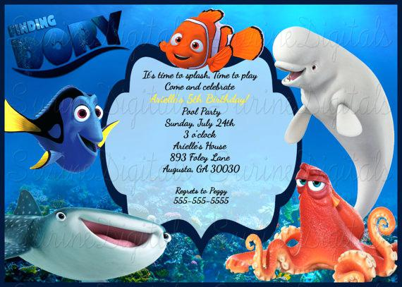 dory birthday invitation template ; finding-dory-birthday-invitations-birthday-party-invitation-finding-dory-inspired-by-finding-dory-birthday-invitations-template