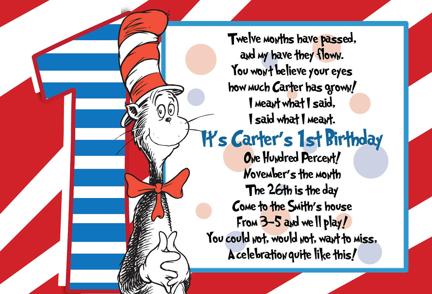 dr seuss first birthday poem ; dr-seuss-1st-birthday-invitations-using-an-excellent-design-idea-aimed-to-prettify-your-Birthday-Invitation-Templates-9