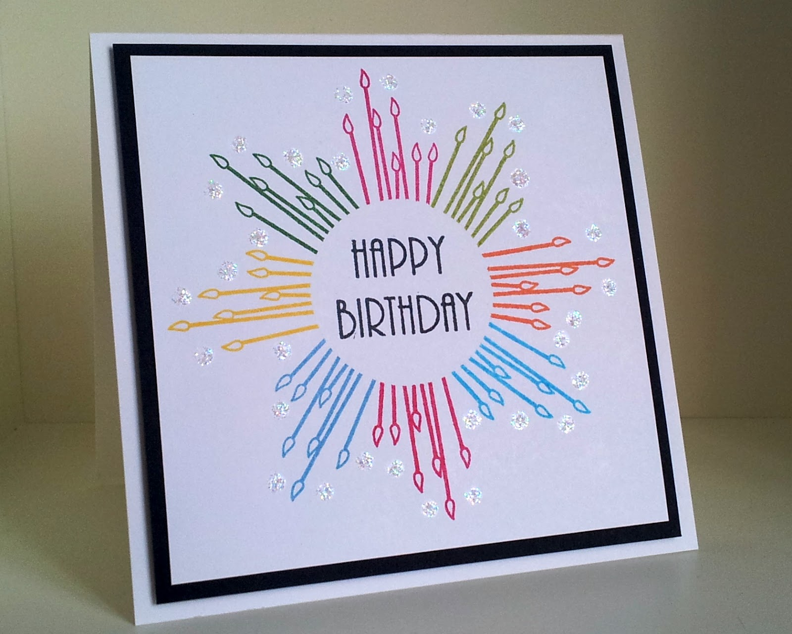 easy card making ideas for birthday ; Outlawz-Cas-Week-Happy-Birthday-Ht-Simple-How-To-Make-A-Happy-Birthday-Card