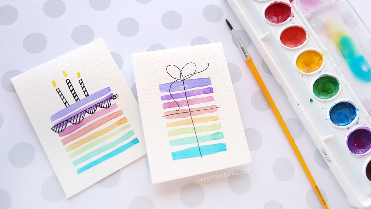 easy card making ideas for birthday ; maxresdefault-1