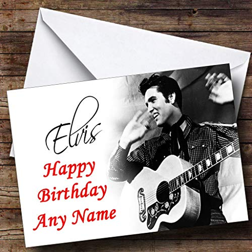 elvis presley personalised birthday card ; 71bbJbwQUnL