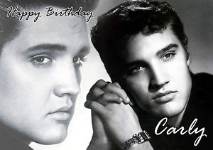 elvis presley personalised birthday card ; s-l300-12