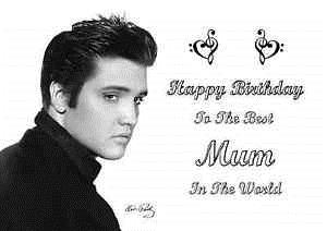 elvis presley personalised birthday card ; s-l300-5