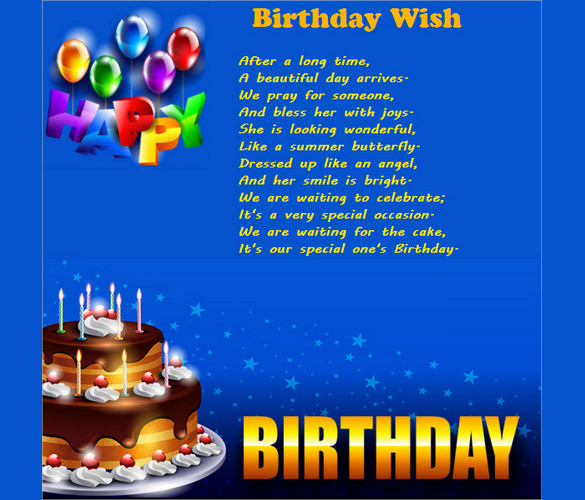 email birthday greetings ; Birthday-Email-Template-For-Wishes