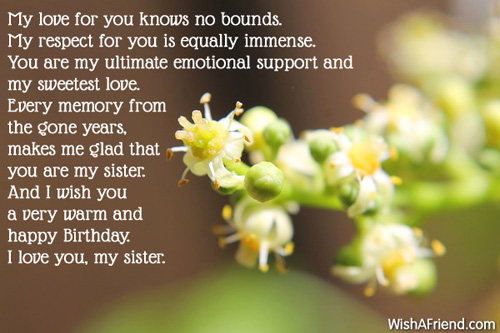 emotional birthday message ; 464-sister-birthday-messages