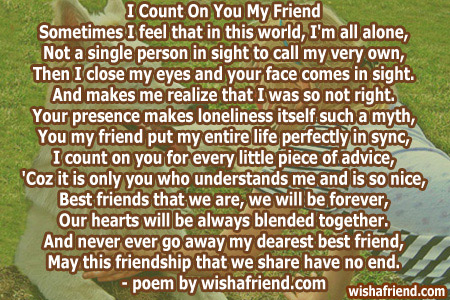 emotional birthday message for best friend ; 3918-poems-for-best-friends