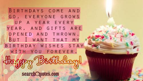 emotional birthday message for best friend ; Birthday-Come-And-Go-Birthday-Wishes-Stay-With-You-Forever-Happy-Birthday