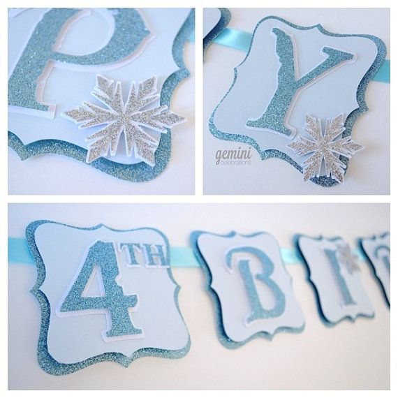 etsy frozen birthday banner ; a3c09ad5af6ccd6ed57d84ed0d9057f9