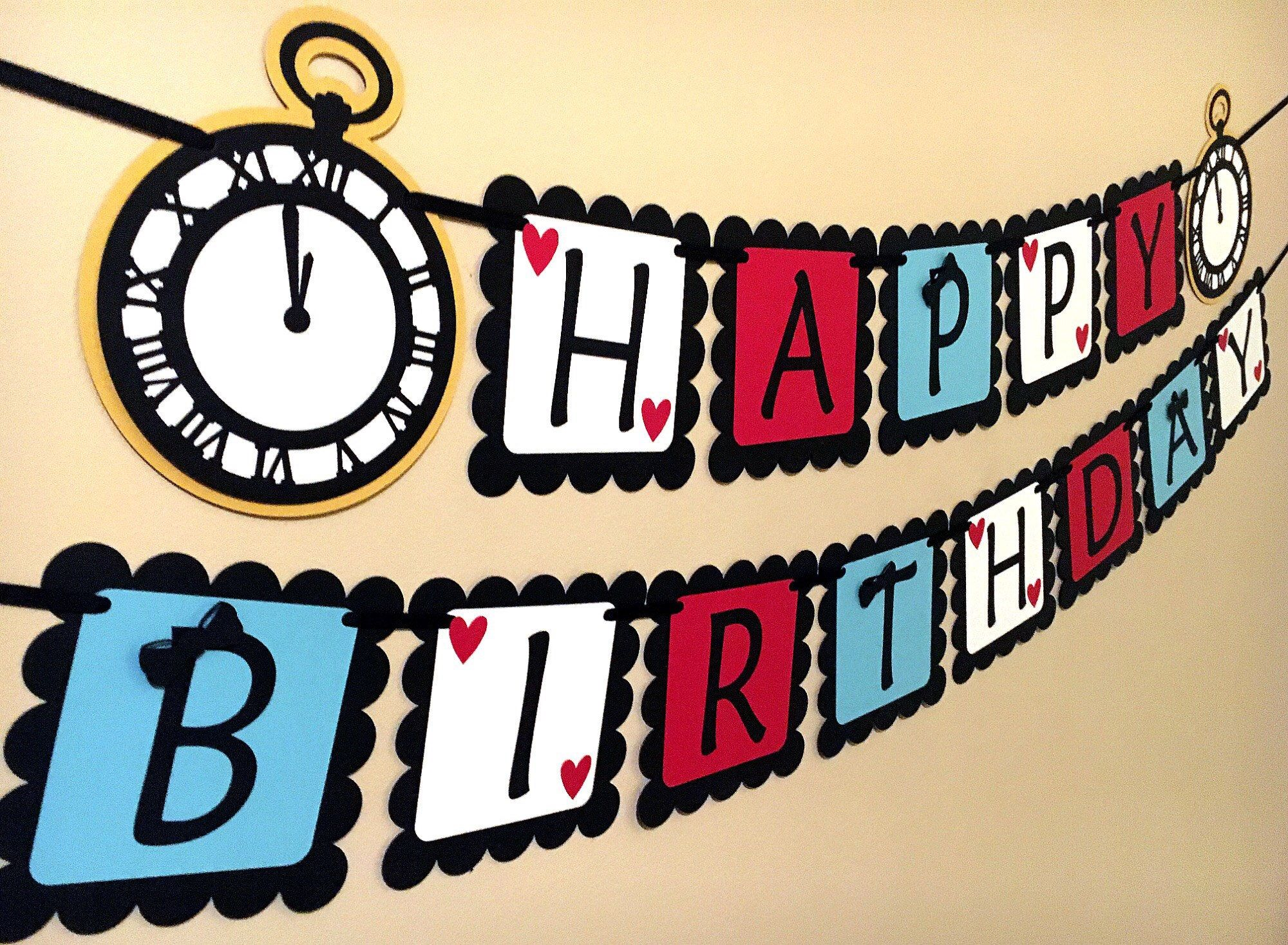 etsy happy birthday banner ; 36821b79e97d35bb268078b36f5564c5