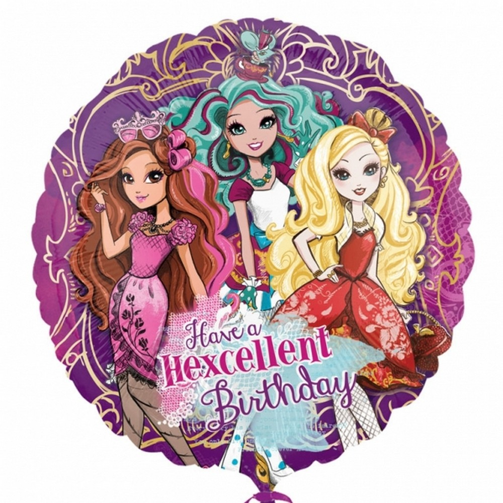 ever after high birthday card ; 3129701_1
