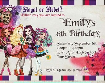 ever after high birthday card ; 4c5a8693ff99fd0f847edea25be54b5b--ever-after-high