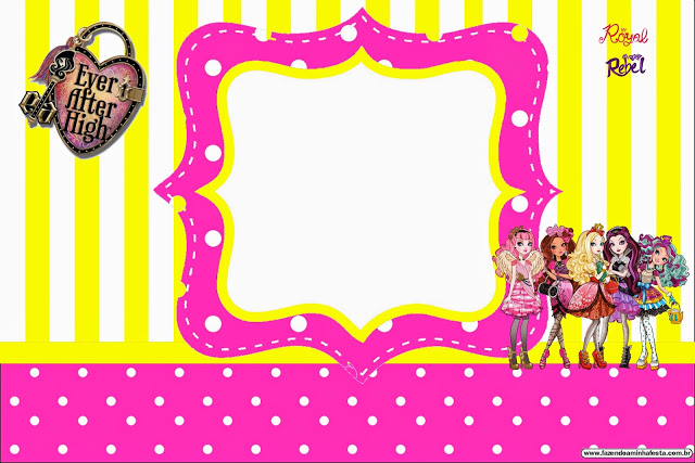 ever after high birthday card ; ever-after-high-005