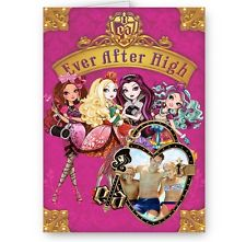 ever after high birthday card ; s-l225