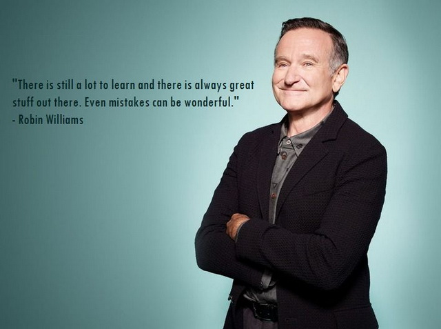 famous birthday sayings ; famous-robin-williams-quotes