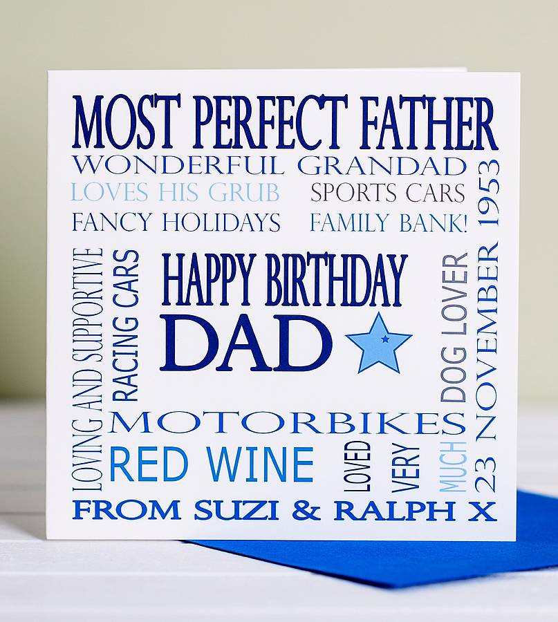 father birthday card template ; father-birthday-cards-personalised-dad-birthday-card-lisa-marie-designs-template