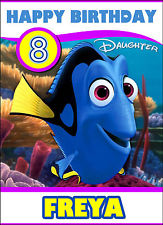 finding nemo personalised birthday card ; s-l225