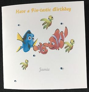 finding nemo personalised birthday card ; s-l300-10
