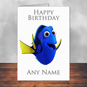 finding nemo personalised birthday card ; s-l300-3