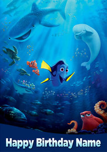 finding nemo personalised birthday card ; s-l300-5