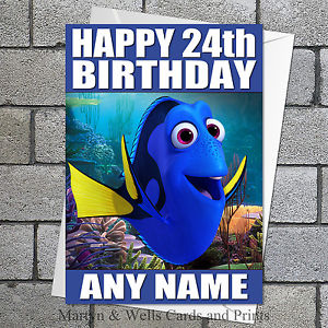 finding nemo personalised birthday card ; s-l300-7