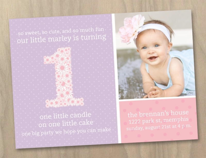 first birthday greeting for baby girl ; baby-girl-first-birthday-invitations-pascalgoespop-1