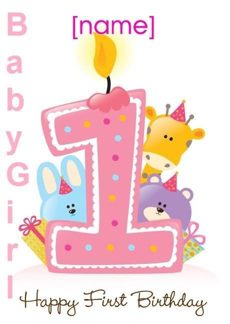 first birthday greeting for baby girl ; first-birthday-wishes-greeting-cards-happy-1st-birthday-card-wishes-for-baby-girl