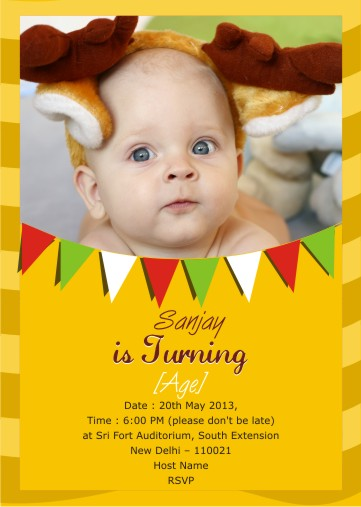 first birthday invitation cards india ; birthdayinvitesa056