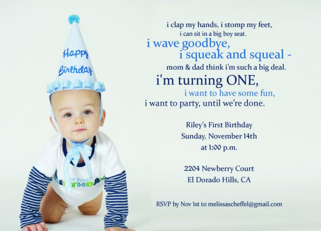 first birthday invitation templates ; first-birthday-invitation-wording-with-some-beautification-for-your-Birthday-Invitation-Templates-to-serve-easy-on-the-eye-environment-5-654x471