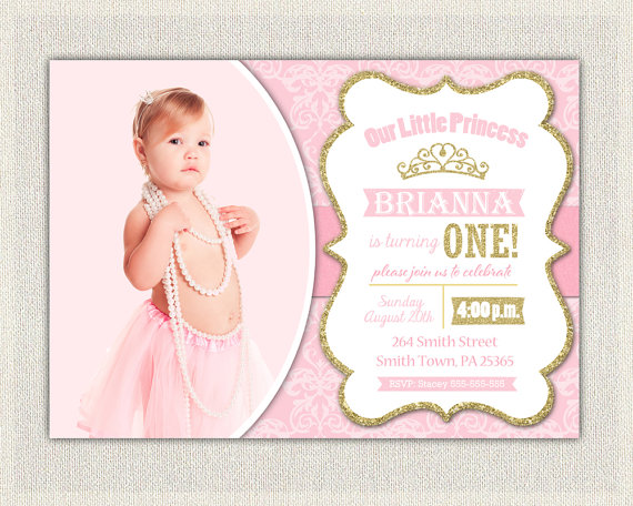 first birthday invitation templates ; princess-1st-birthday-invitations-with-a-decorative-invitations-specially-designed-for-your-Birthday-Invitation-Templates-6